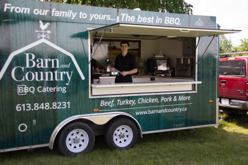 Backyard BBQ with Barn and Country catering