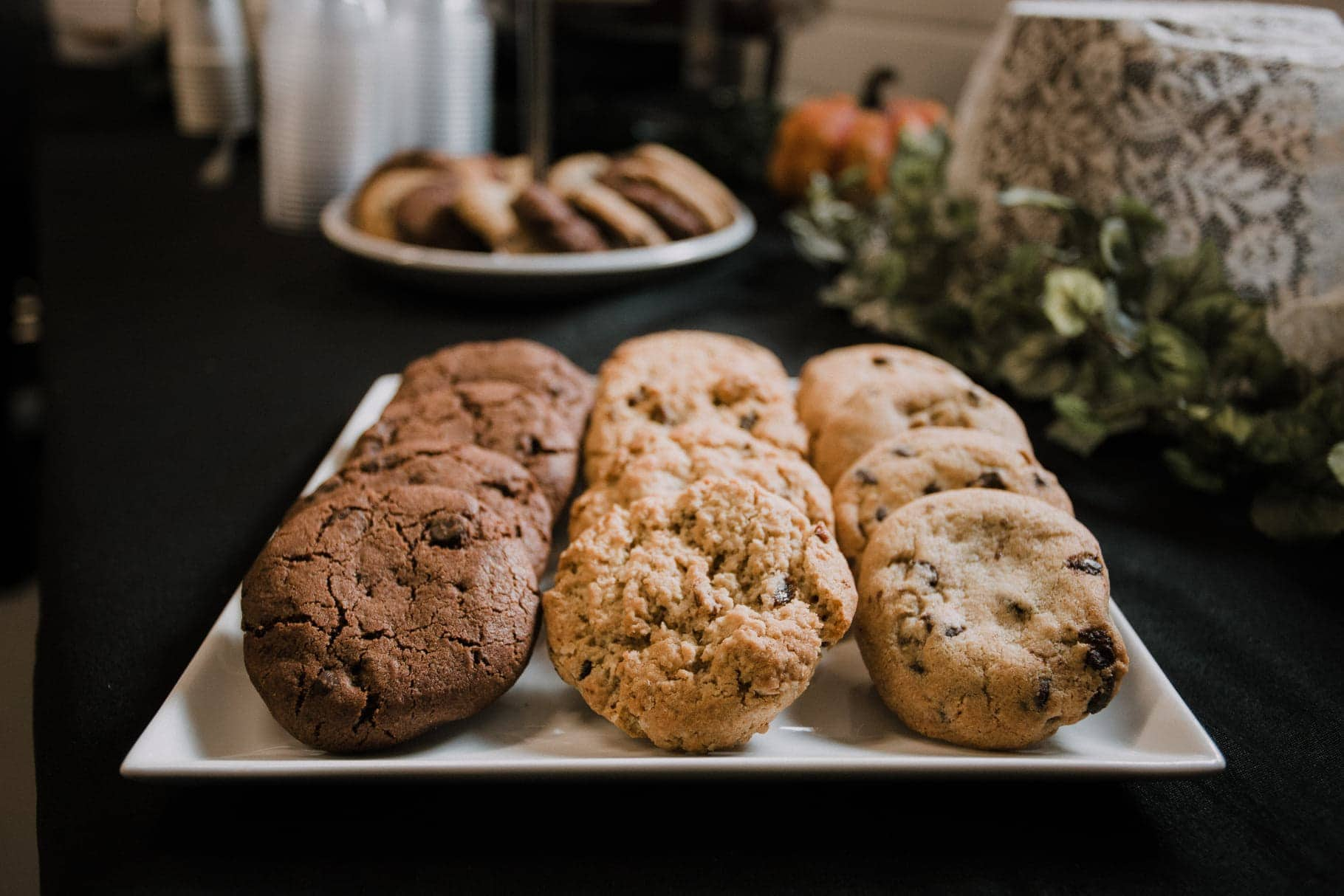 Display of cookies